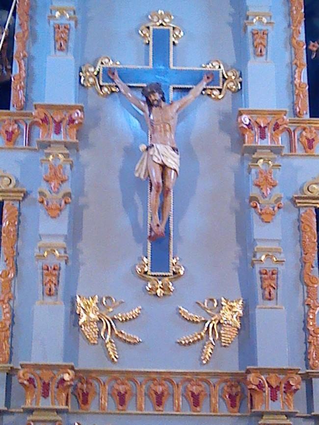 Cross at Mission San Jose, San Antonio, Texas